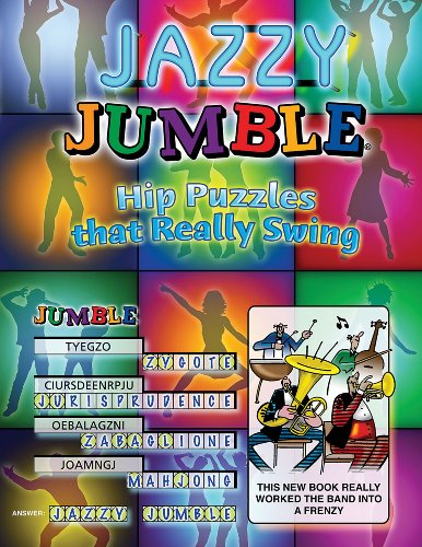 9781572439627: Jazzy Jumble: Hip Puzzles That Really Swing (Jumbles)