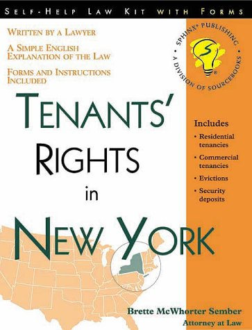 9781572481220: Tenants' Rights in New York