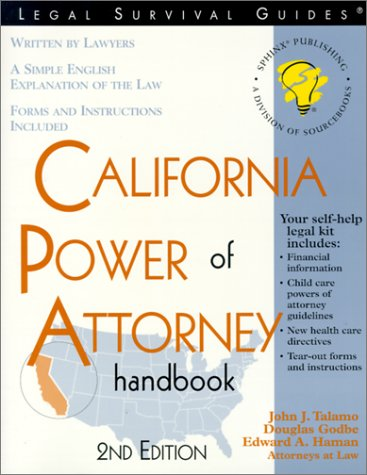 9781572481503: California Power of Attorney Handbook