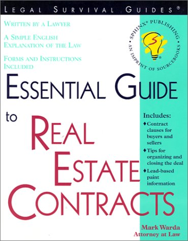 9781572481596: Essential Guide to Real Estate Contracts
