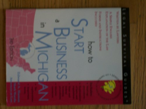 9781572481831: How to Start a Business in Michigan