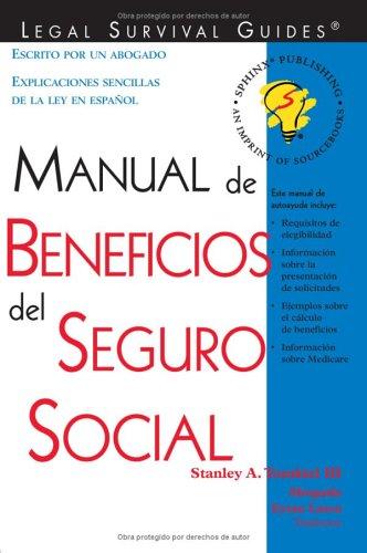 9781572481862: Manual de Beneficios del Seguro Social: (Social Security Benefits Handbook (Spanish Edition))