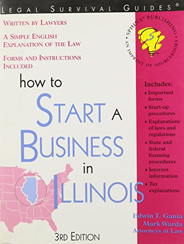 9781572482470: How to Start a Business in Illinois
