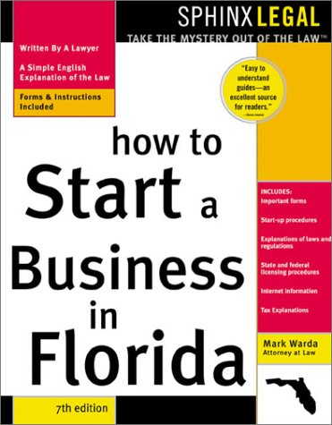 9781572483392: How to Start a Business in Florida, 7E