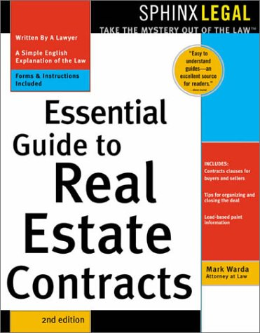 9781572483460: Essential Guide to Real Estate Contracts