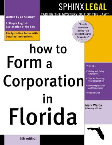 9781572483569: How to Form a Corporation in Florida