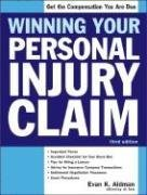 9781572484733: Winning Your Personal Injury Claim (Win Your Personal Injury Claim)