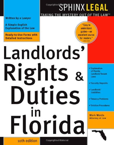 9781572484917: Landlord's Rights & Duties In Florida, 10E