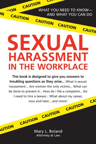 9781572485273: Sexual Harassment in the Workplace