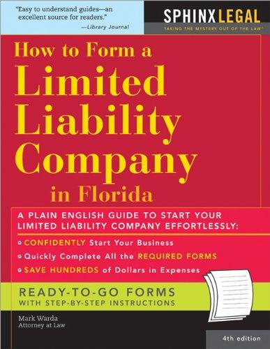 Form a Limited Liability Company in Florida,: Mark Warda Attorney