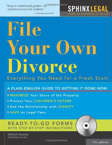9781572486270: File Your Own Divorce: Everything You Need for a Fresh Start (Legal Survival Guides)