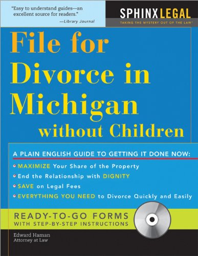 How to File for Divorce in Michigan without Children (Legal Survival Guides): Haman, Edward