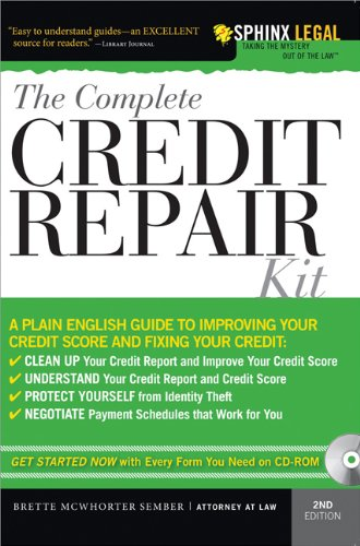 9781572486812: The Complete Credit Repair Kit (Complete . . . Kit)