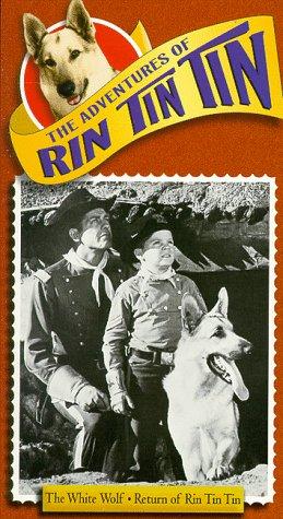 9781572521698: Adventures of Rin Tin Tin: The White Wolf / Return of Rin Tin Tin [VHS]