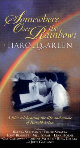 9781572525924: Somewhere Over the Rainbow - Harold Arlen [VHS]
