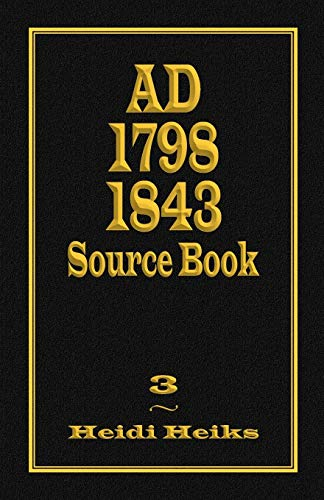 9781572586291: AD 1798 1843 Source Book