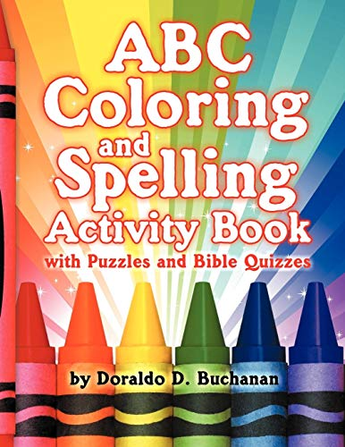 9781572587236: ABC Coloring & Spelling Activity Book