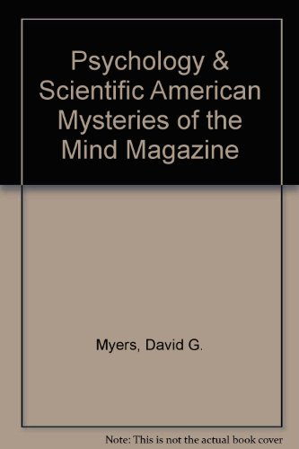 9781572592063: Psychology & Scientific American Mysteries of the Mind Magazine
