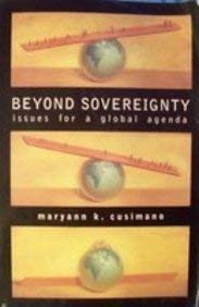 9781572597518: Beyond Sovereignty: Issues for a Global Agenda