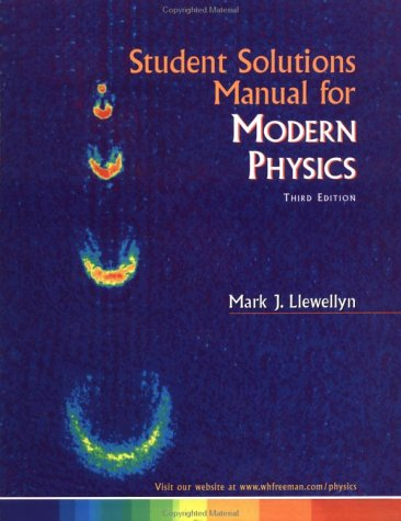 9781572597921: Student Solutions Manual for Modern Physics