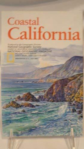 9781572621398: National Geographic Coastal California Map
