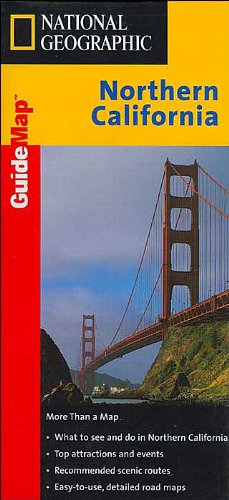 9781572624030: California, Northern (National Geographic GuideMaps)