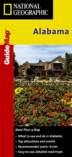 9781572624351: Alabama: State Guides Road Maps (National Geographic GuideMaps)