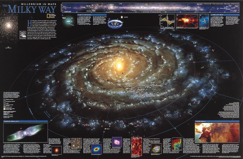 9781572625136: The Milky Way (Space thematic map)