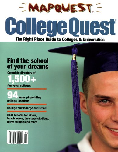 9781572626126: CollegeQuest: The Right Place Guide to Colleges & Universities