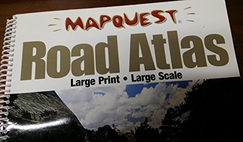 9781572626157: Mapquest Road Atlas Large Print Large Scale