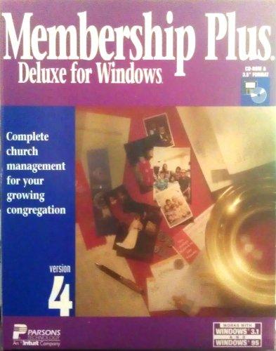 9781572642010: Membership Plus 4.0 Deluxe for Windows