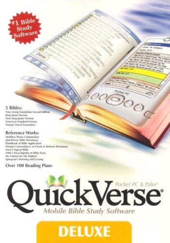 9781572643697: QuickVerse Deluxe-PR-NLT/KJV/NKJV/American Standard Version/Young's Literal Translation