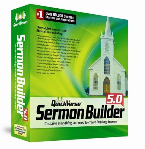 9781572644670: QuickVerse Sermonbuilder 5.0