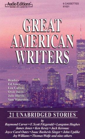 Great American Writers: 21 Unabridged Stories Cassette: Raymond Carver, Ed