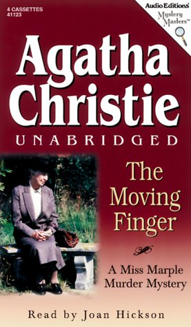 9781572701236: The Moving Finger (Audio Editions Mystery Masters)