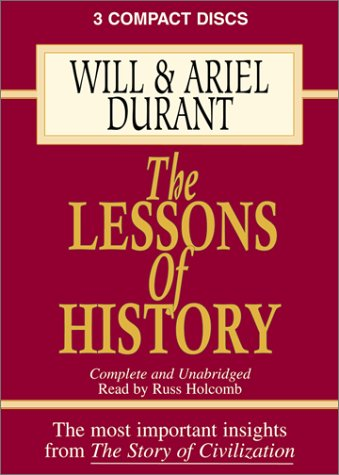 9781572702165: The Lessons of History