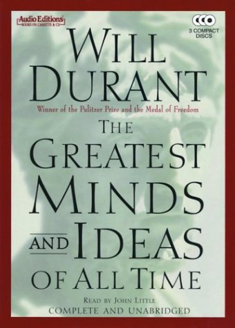 9781572703483: The Greatest Minds and Ideas of All Time (Audio Editions)