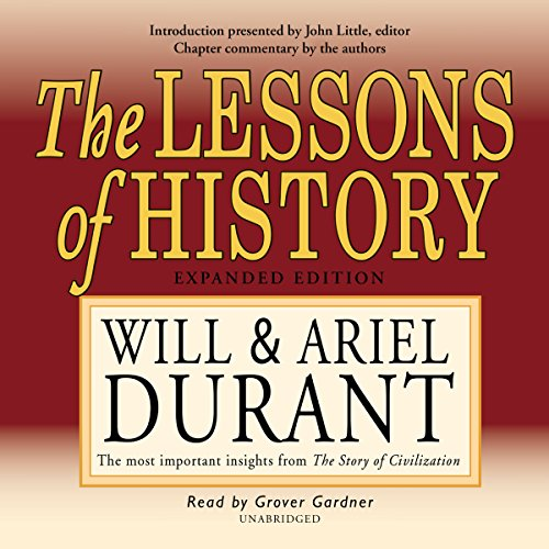 9781572703964: The Lessons of History (Will Durant Audio Library)