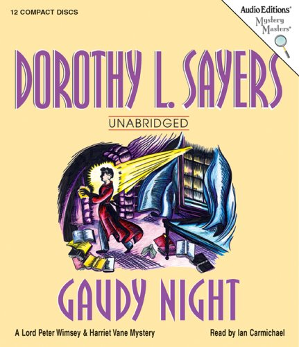 9781572704992: Gaudy Night (Mystery Masters)