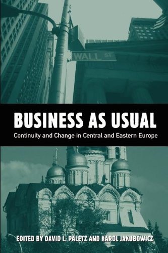 Business As Usual: Continuity and Change in Central and Eastern European Media (Hampton Press ...