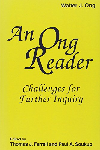 9781572734456: An Ong Reader: Challanges for Further Inquiry (Hampton Press Communication Series Media Ecology)