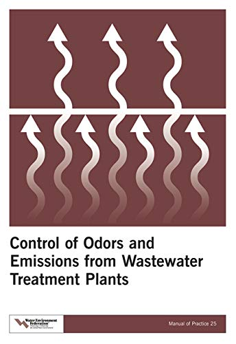 9781572781894: Control of Odors and Emissions from Wastewater Treatment Plants (Manual of Practice)