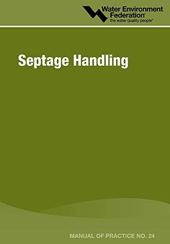 9781572782440: Septage Handling (Manual of Practice)