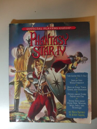 9781572800298: Phantasy Star IV (Offical Players Guide)
