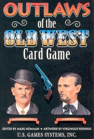 9781572810167: Outlaws of the Old West (Old West Card Games)