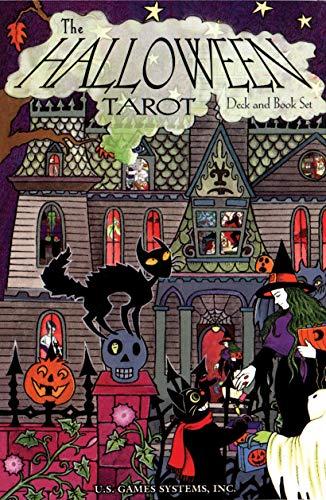9781572810341: The Halloween Tarot Deck and Book Set