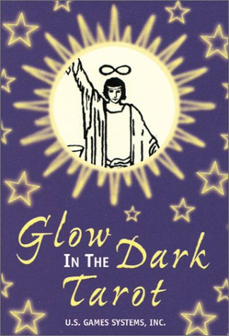 9781572812048: Glow in the Dark Tarot: 22 Major Arcana Cards
