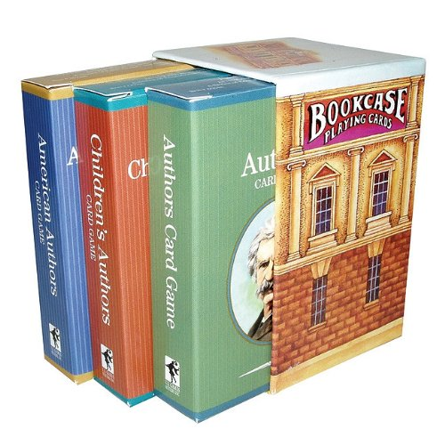 9781572814561: Authors Bookcase Card Game (History Channel)