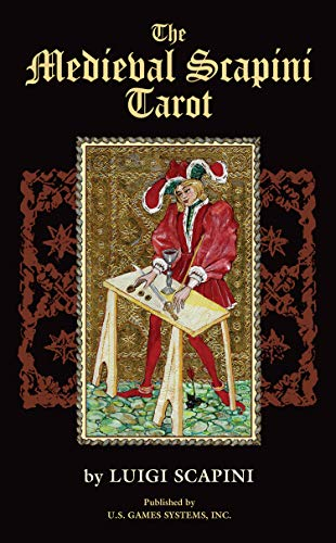 9781572815070: The Medieval Scapini Tarot (Premier Edition Tarot)