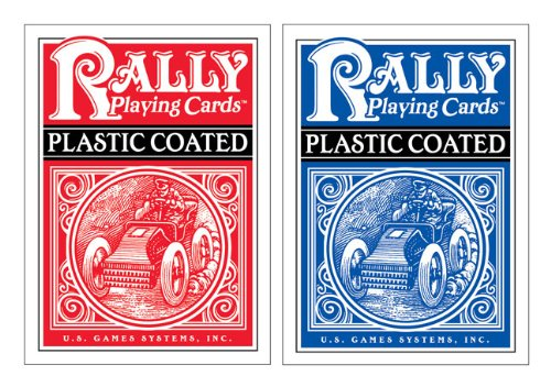 Plastic-Coated Rally Playing Cards: U.S. Games Systems; Inc.